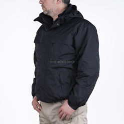 Aδιάβροχο Μπουφάν 3 σε 1 με επένδυση Fleece ARMYMANIA - Μαύρο - Tuff Men s  Gear b15b77f56d4
